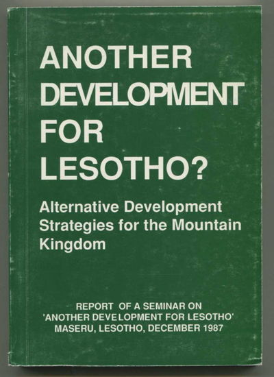 Image for Another Development for Lesotho? Alternative Development Strategies for the Mountain Kingdom