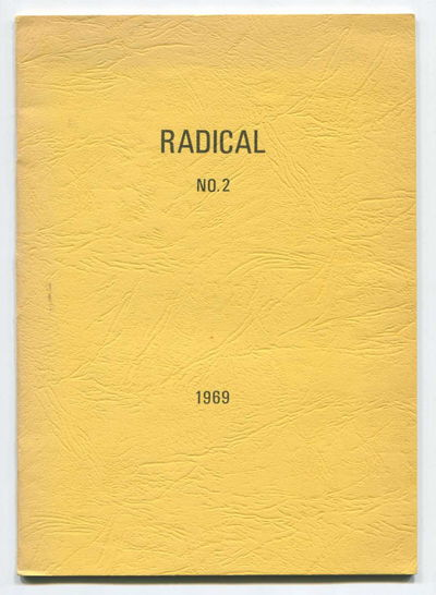 Image for Radical: A Journal of Radical Thought and Expression, No. 2