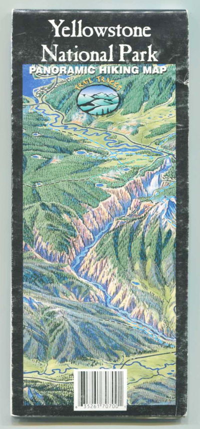 Image for Yellowstone National Park Panoramic Hiking Map