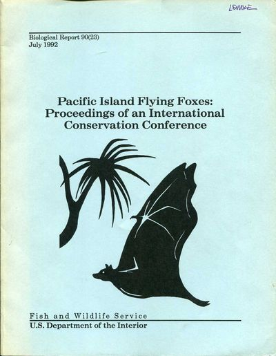 Image for Pacific Island Flying Foxes: Proceedings of an International Conservation Conference