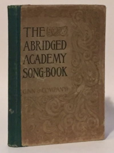 Image for Abridged Academy Songbook for Use in Schools and Colleges