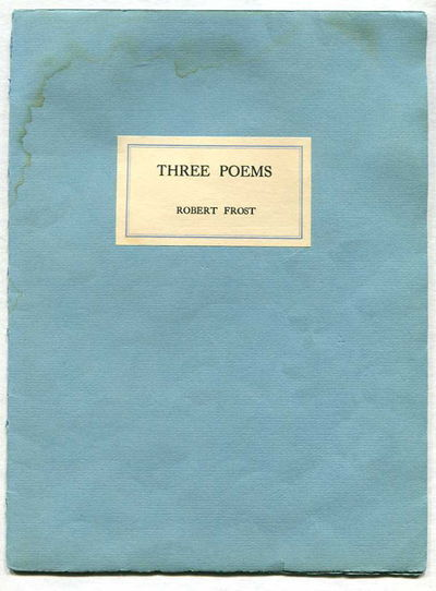 Image for Three Poems
